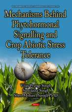 Mechanisms Behind Phytohormonal Signalling & Crop Abiotic Stress Tolerance