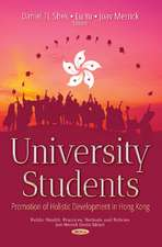 University Students: Promotion of Holistic Development in Hong Kong