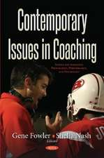 Contemporary Issues in Coaching