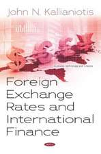 Foreign Exchange Rates and International Finance
