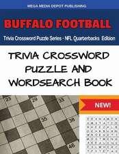 Buffalo Football Trivia Crossword Puzzle Series - NFL Quarterbacks Edition