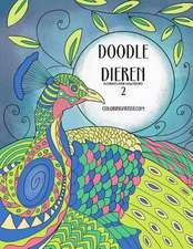 Doodle Dieren Kleurboek Voor Volwassenen 2