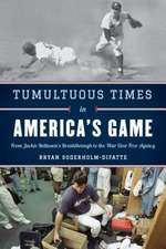 TUMULTUOUS TIMES IN AMERICAS GCB