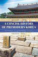 CONCISE HIST OF PREMODERN KORECB