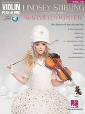 Lindsey Stirling - Selections from Warmer in the Winter: Violin Play-Along Volume 72 [With Access Code]