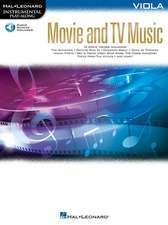 Movie and TV Music for Viola: Instrumental Play-Along Series [With Access Code]