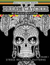 Dream Catcher Coloring Book Midnight Edition Vol.1