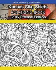 Kansas City Chiefs 2016 Offense Coloring Book