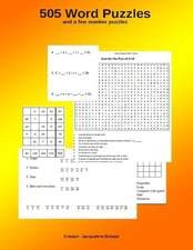 505 Word Puzzles