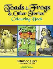 Toads and Frogs and Other Stories Colouring Book