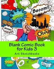 Blank Comic Book for Kids 3