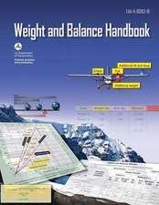 Aircraft Weight and Balance Handbook (FAA-H-8083-1b - 2016)