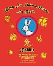 Kung Fu Animal Power Fu Book Rabbit