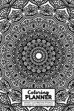 Undated Coloring Planner