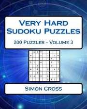 Very Hard Sudoku Puzzles Volume 3