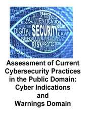 Assessment of Current Cybersecurity Practices in the Public Domain