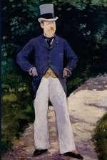 """Portrait of Monsieur Brun"" by Edouard Manet - 1879"