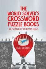 The World Solver's Crossword Puzzle Books | 86 Puzzles for Brain Help