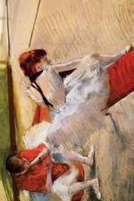 ''Dancers Resting'' by Edgar Degas - 1879