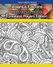 Atlanta Falcons Coloring Book Greatest Players Edition