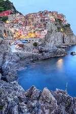 Colorful Coastal Town of Manarola Cinque Terre Italy Journal