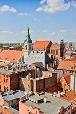 View of the Medieval Town of Torun Poland Journal
