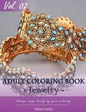 Jewelry Coloring Book for Stress Relief & Mind Relaxation, Stay Focus Treatment