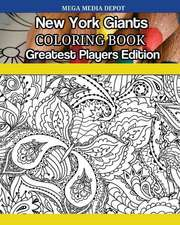 New York Giants Coloring Book Greatest Players Edition