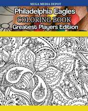 Philadelphia Eagles Coloring Book Greatest Players Edition