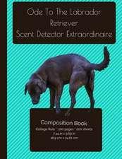 Labrador Retriever - Scent Detective Composition Notebook