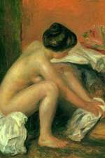 150 Page Lined Journal Bather Drying Her Feet, 1907 Pierre Auguste Renoir