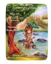 Lacy Sunshine's Enchanted Cove Coloring Book