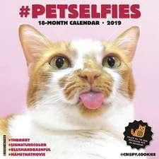 2019 #Petselfies Wall Calendar