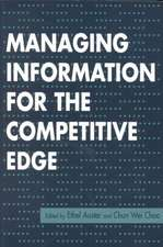 Managing Information for Comp Edge