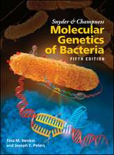 Snyder and Champness Molecular Genetics of Bacteria