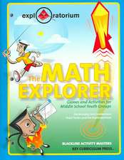 The Math Explorer:  Games and Activities for Middle School Youth Groups