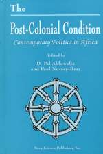The Post-Colonial Condition