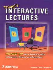 Thiagi's Interactive Lectures