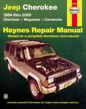 Jeep Cherokee 1984 Thru 2001:  Cherokee, Wagoneer, Comanche Haynes Repair Manual