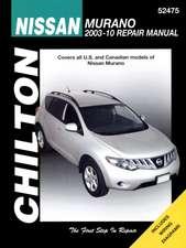 Nissan Murano Service and Repair Manual
