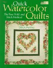 """Quick Watercolor Quilts """"Print on Demand Edition"""""""