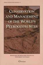 Conservation And Management Of The WorldÏs Petroglyph Sites