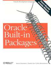 Oracle Built–In Packages +D