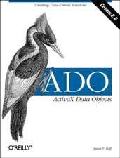 ADO – ActiveX Data Objects