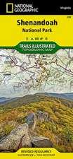 Shenandoah National Park: Trails Illustrated National Parks