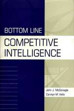 Bottom Line Competitive Intelligence