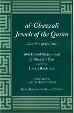 Al-Ghazzali Jewels of the Quran:  Original Arabic and English Translation