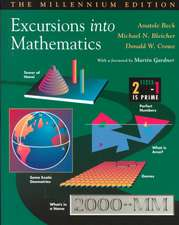 Excursions Into Mathematics:  The Millennium Edition