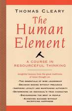 Human Element:  A Course in Resourceful Thinking
