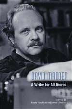 David Madden: A Writer for All Genres